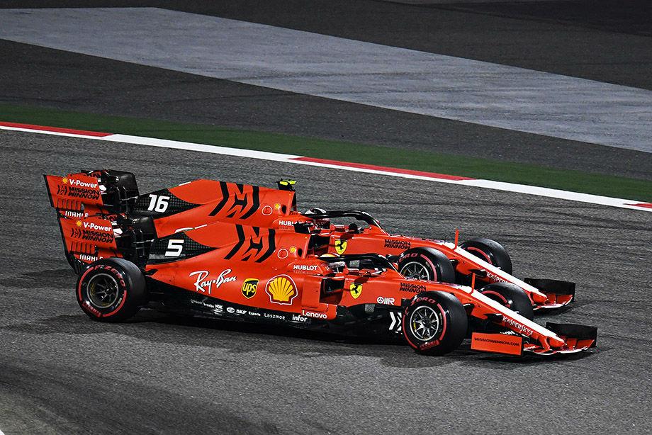 Феттель опять ошибается, а Гасли не едет. Ставим оценки за Гран-при Бахрейна