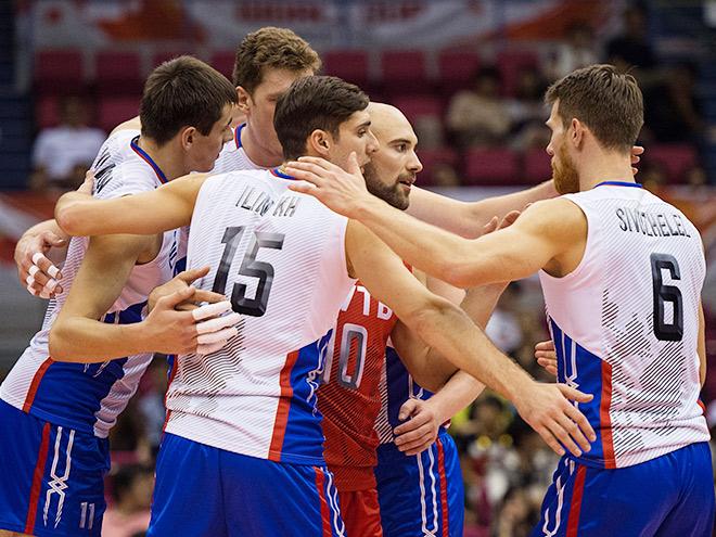 Волейбол. Мужчины. Кубок мира. Россия — Тунис — 3:0