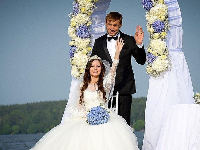 Свадьба в стиле биатлон