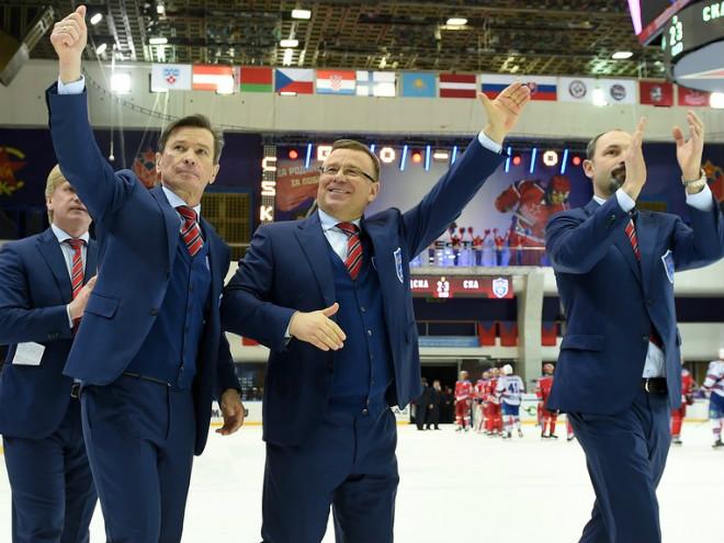 Вячеслав Быков, Игорь Захаркин и Сергей Зубов