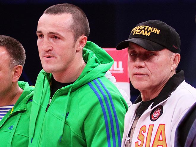 Денис Лебедев с отцом