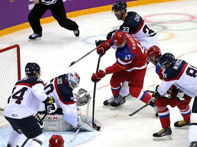 Сочи-2014. Хоккей. Россия – Словакия – 1:0 (ПБ)