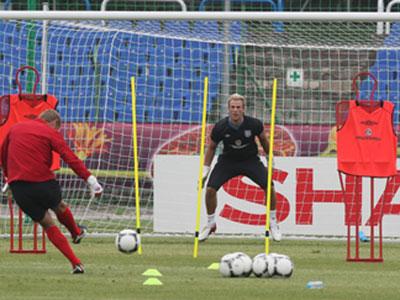 Англия тренирует пенальти