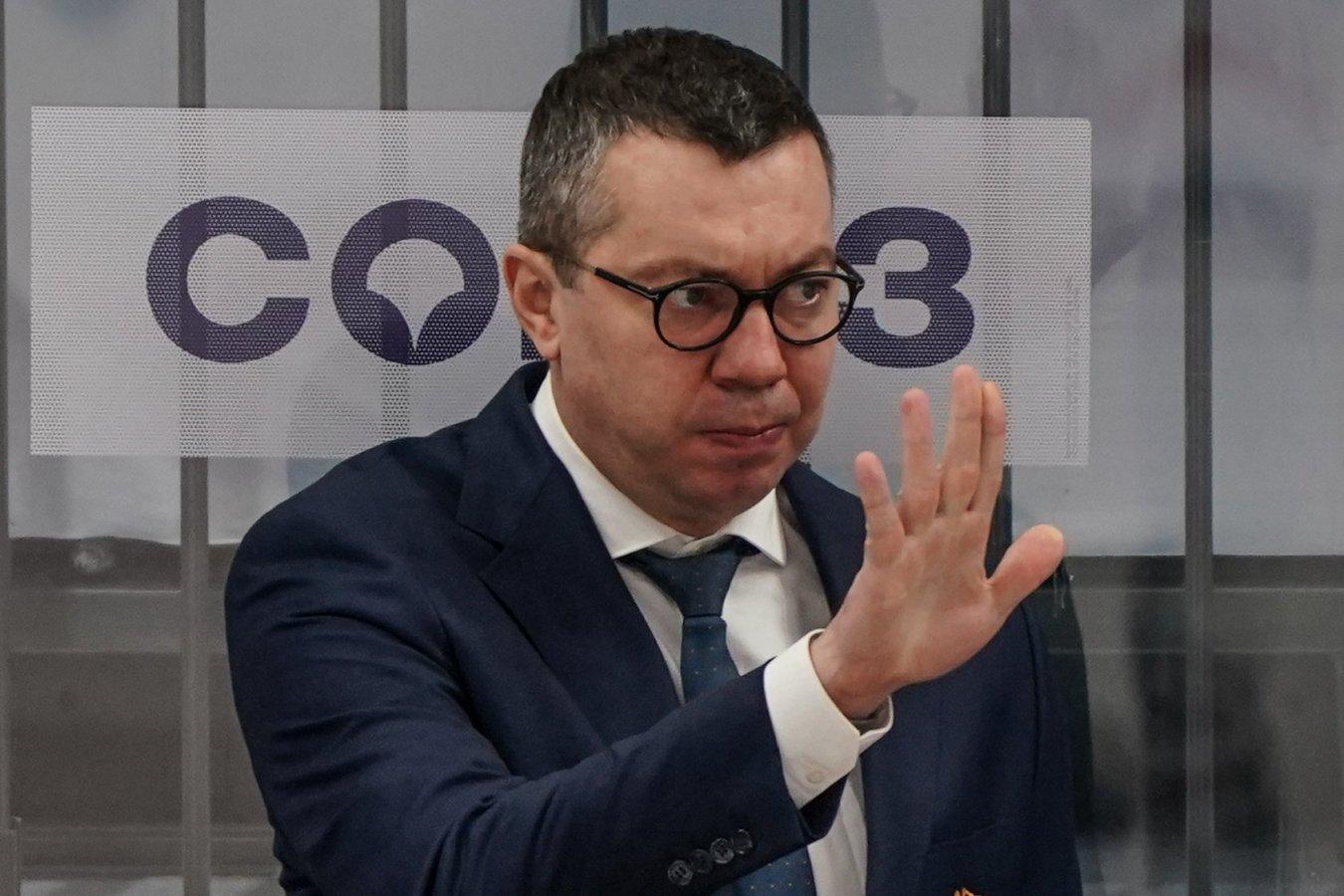Главный тренер Металлурга Илья Воробьёв одержал 250-ю победу в КХЛ