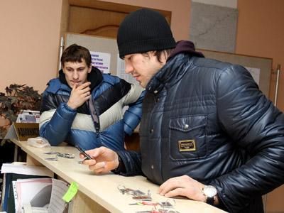 Сборная России по хоккею съехалась в Новогорск лишь на одну ночь