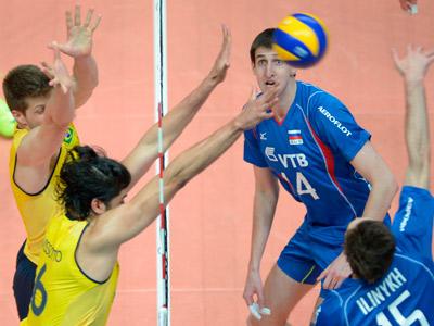 Россияне уступили бразильцам в товарищеском матче
