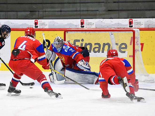Сборная России U-18 в 1/4 ЮЧМ проиграла Швейцарии – 0:5
