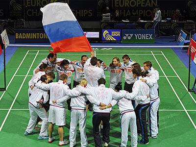 Россия – полуфиналист ЧЕ по бадминтону