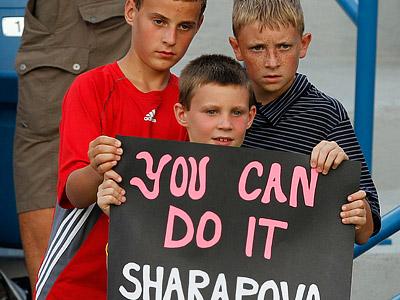 Шарапова и Павлюченкова оспорят путёвку в финал