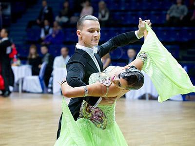 Даниил Уланов и Ирина Гоголадзе
