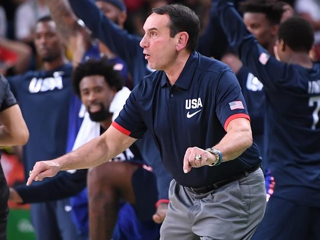 Сборная США - победитель баскетбольного турнира Олимпиады в Рио-де-Жанейро
