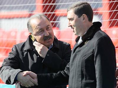 Валерий и Владимир Газзаевы