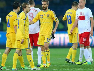 Оценки игрокам сборной Украины в матче с Польшей