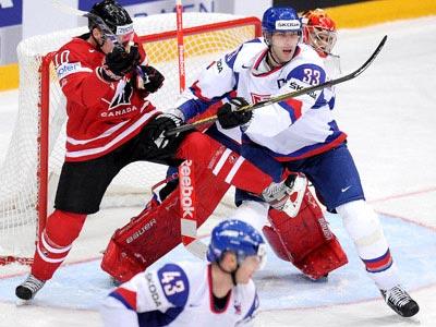 Сборная Канады одержала первую победу на чемпионате мира в Финляндии