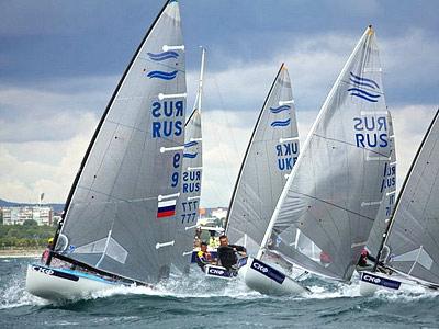В Новороссийске продолжается чемпионат России по парусному спорту