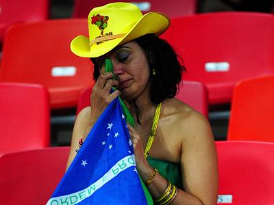 Бразилия всплакнула и успокоилась