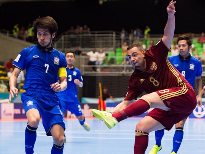 Чемпионат мира по мини-футболу. Россия - Таиланд
