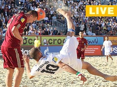 Пляжный футбол. Евролига-2013. Россия – Италия