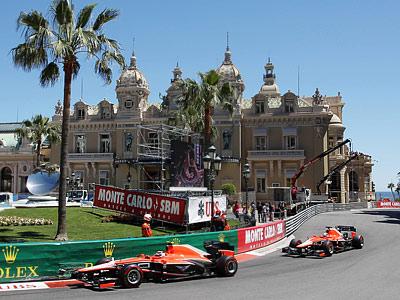 «Маруся» на Гран-при Монако Формулы-1