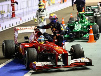 Герои и неудачники Гран-при Сингапура Формулы-1