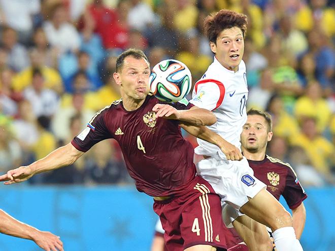 ЧМ-2014. Россия сыграла вничю с Южной Кореей