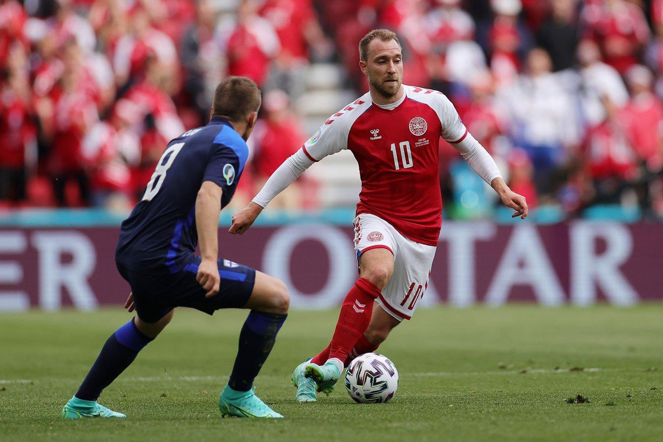 Кристиан Эриксен стал игроком матча Дания  Финляндия