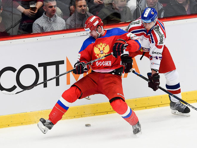 Сборная Чехии по буллитам выиграла у России