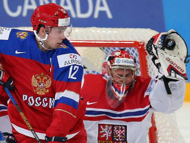 Брагин и игроки сборной РФ – о победе над чехами на МЧМ