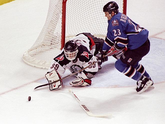 Какими были хоккейные вратари в 90-е