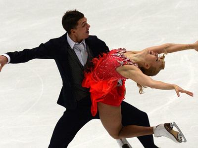 Дмитрий Соловьёв и Екатерина Боброва