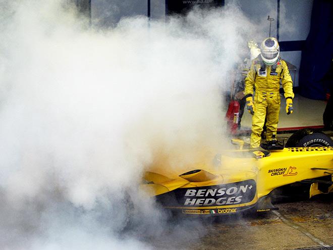Гран-при Бразилии-2003: «Джордан»