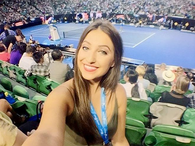 Самые красивые болельщицы Australian Open