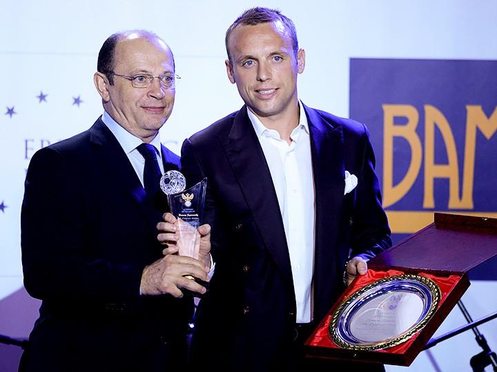 Глушаков признан лучшим футболистом чемпионата РФ