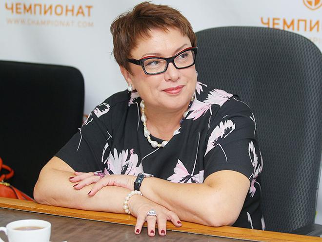 Ольга Смородская - гость редакции «Чемпионата»