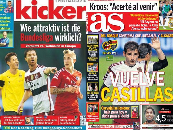 Новое время Германии - в обзоре футбольной прессы