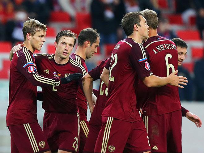 Похвала сборной России по футболу