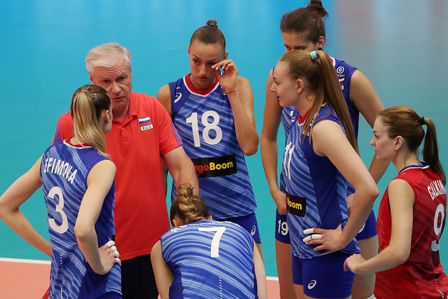 Россия проиграла Сербии на третьем этапе Лиги наций, обзор матча