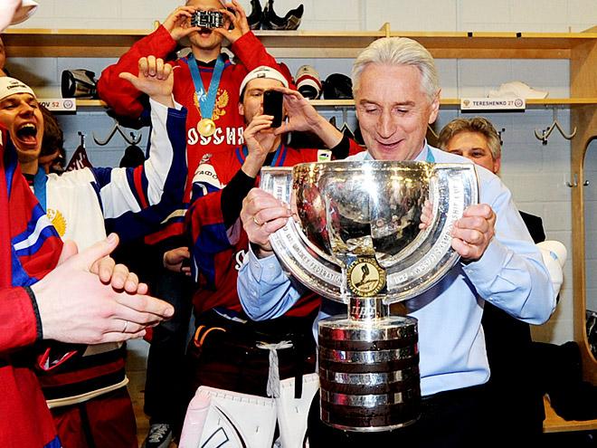 Всё золото нашего хоккея. Чемпионат мира – 2012