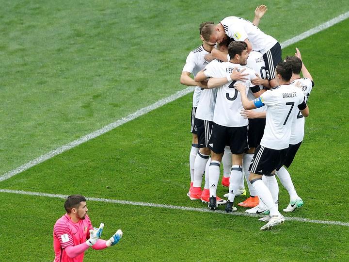 Кубок конфедераций. Австралия — Германия — 2:3