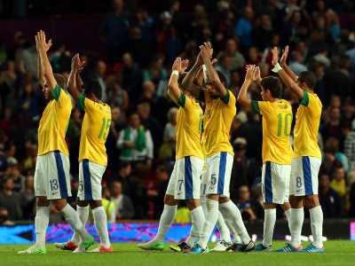 Лондон-2012. Футбол. Сборная Бразилии вышла в финал