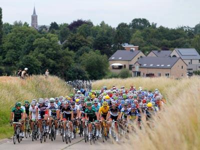 Словак Петер Саган эффектно выиграл третий этап «Тур де Франс»