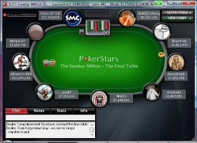 Sunday Million, 6th of June