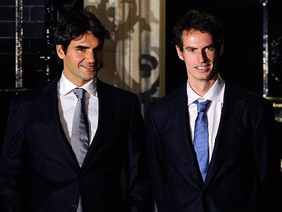Федерер и Маррей приблизили свою встречу в Лондоне