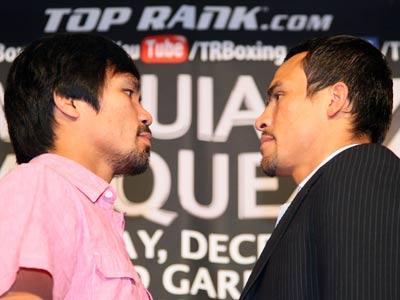 Пакьяо и Маркес проведут четвёртый бой