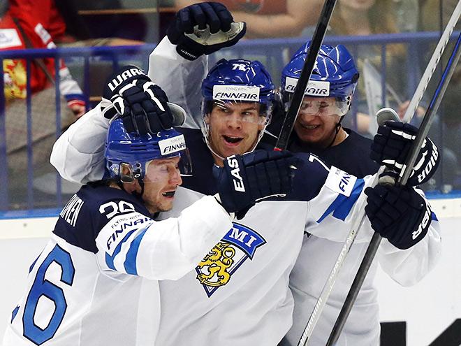 Сборная России уступила Финляндии – 2:3 Б (0:1)