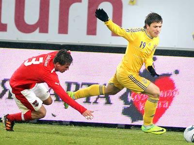 Сегодня Украина сыграет с Австрией