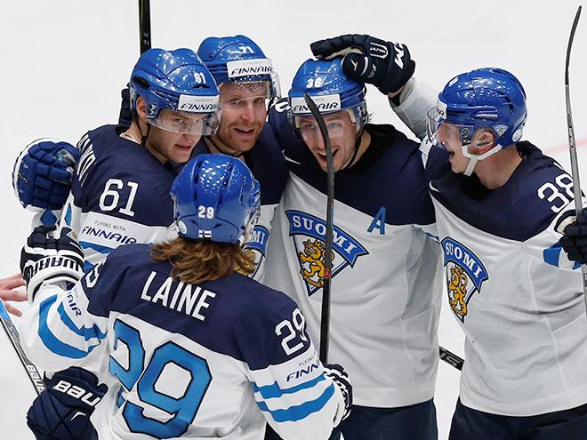 Сборная Финляндии на Кубке мира по хоккею — 2016