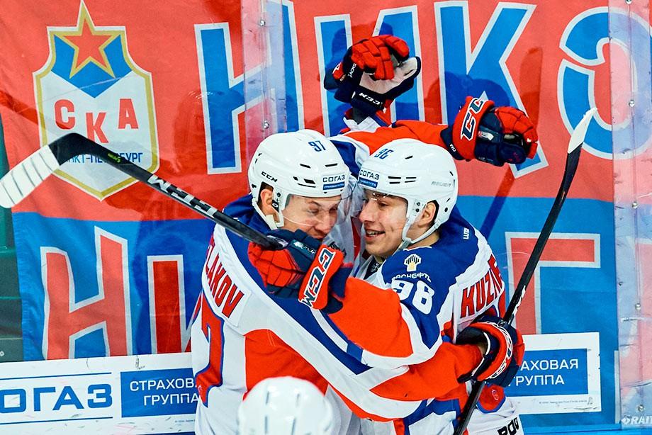 СКА вышел вперед всерии против ЦСКА