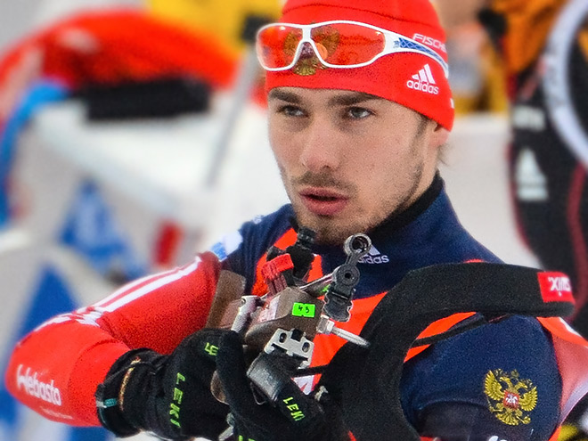 Антон Шипулин выиграл бронзу в Ханты-Мансийске