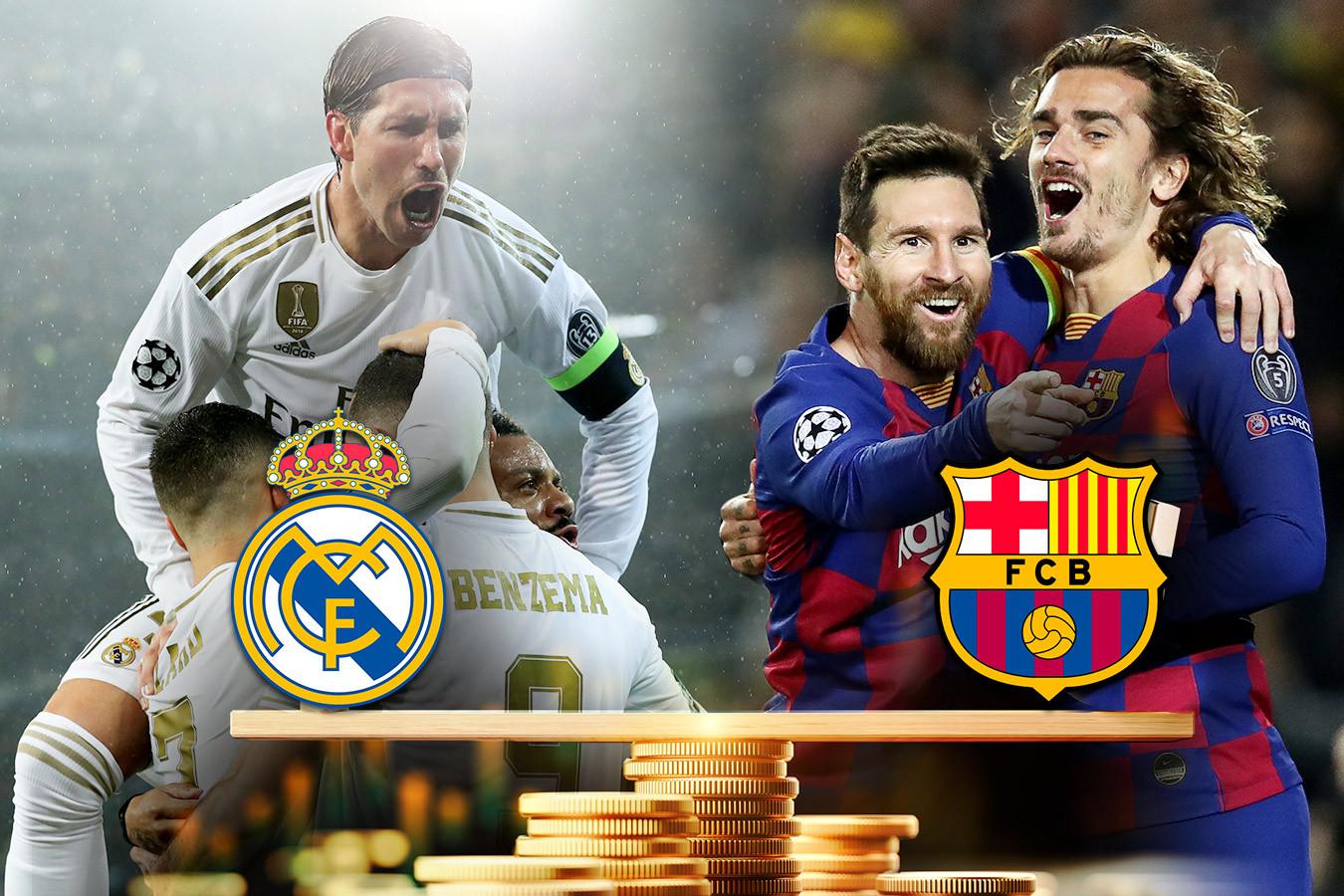 «Телеспорт» и Одноклассники проведут марафон матчей «Реала» и «Барселоны»